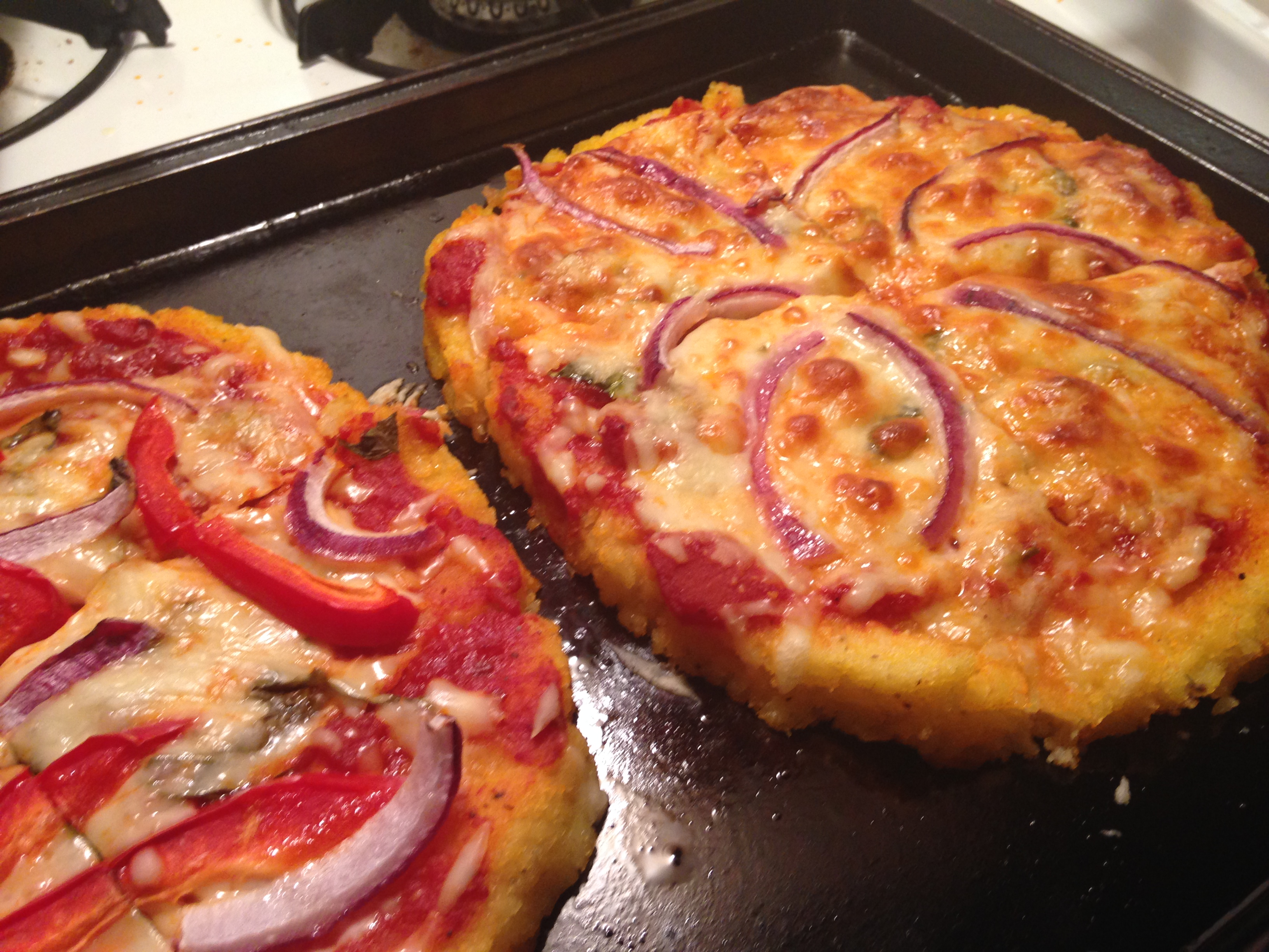Polenta Pizzas Recipes — Dishmaps