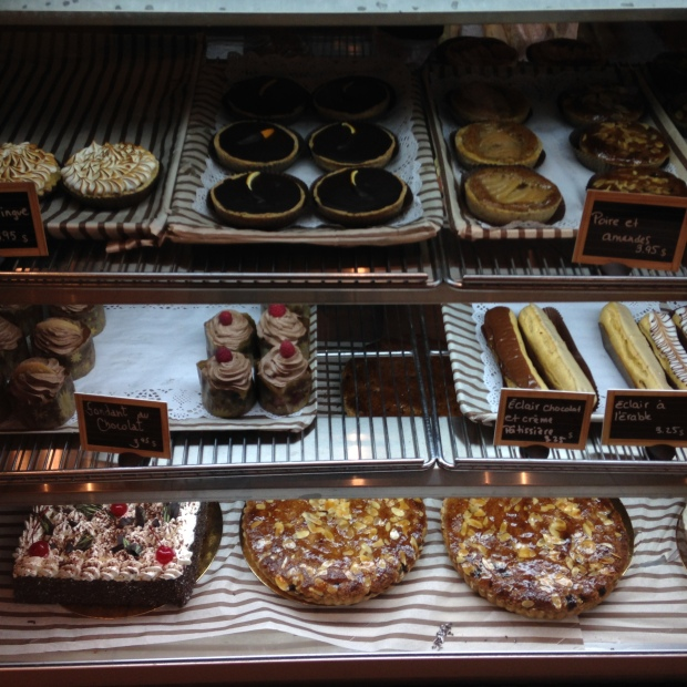 Cakes and Tarts- many of their products are dairy free