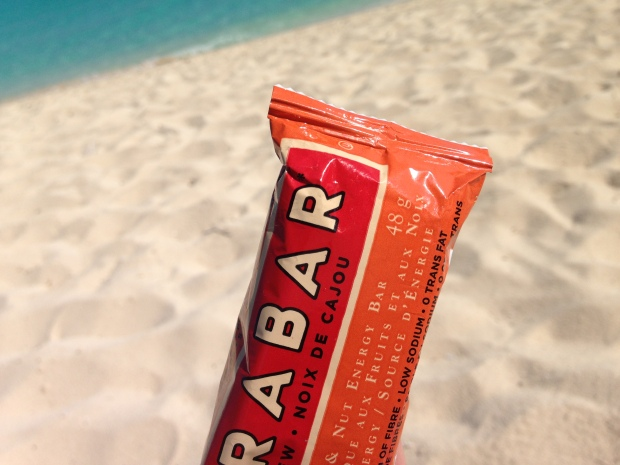 A Larabar is a beach bag essential!