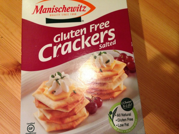 Gluten-Free Kosher for Passover Crackers