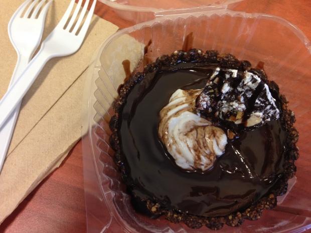 Choco Coco Vegan Tart