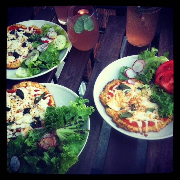 Cauliflower Pizza Crusts (Gluten-Free)