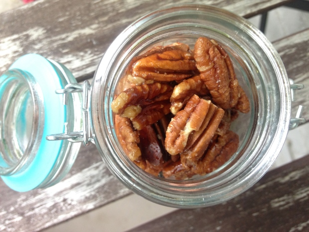 Easy Candied Pecan (Gluten-Free)