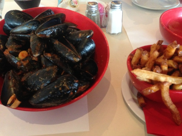 Mussels at Ottavio's