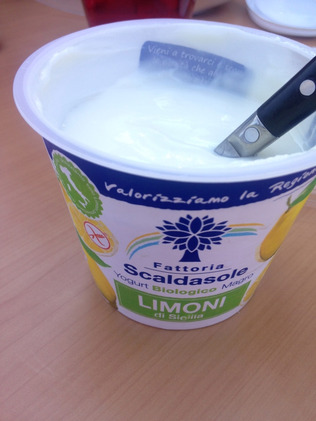 Even the yogurt was labeled gluten-free